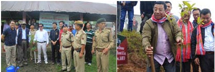 Van Mahotsav week observed across the State Shyamkumar takes grim note of massive deforestation