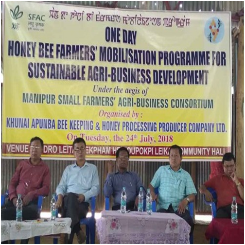 A one-day honey bee farmers' mobilisation programme for sustainable agri-business development