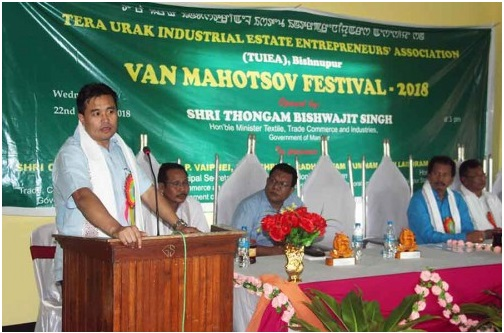 Biswajit launches tree plantation as part of Van Mahotsov Festival