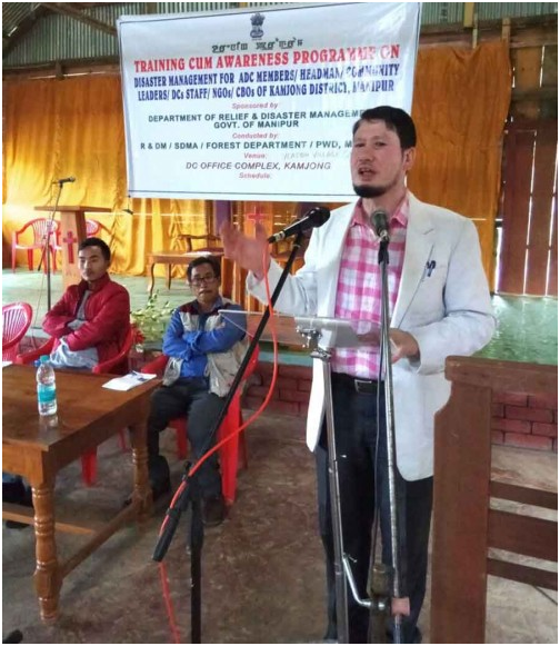 Disaster Management training held at Yeasom village