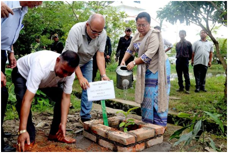 Let us all plant trees on regular basis: Minister Nemcha Kipgen