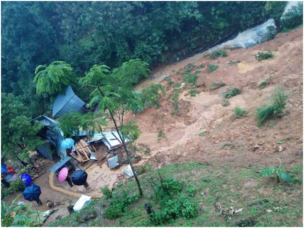 Landslide kills 9 in Tamenglong district
