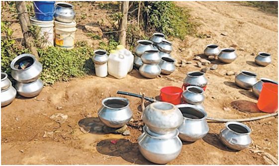 Water scarcity hits CCpur town