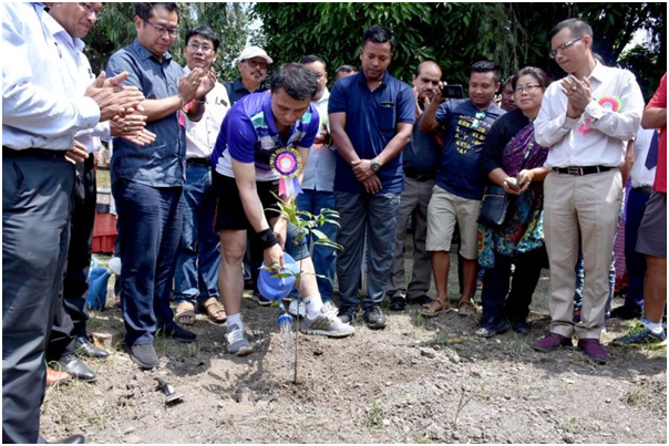 Manipur creates record on World Environment Day: Over 50,000 saplings planted in 950 schools and 80 colleges in 1 hour