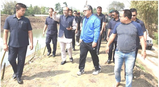 CM, Ministers continue inspection of dredging works